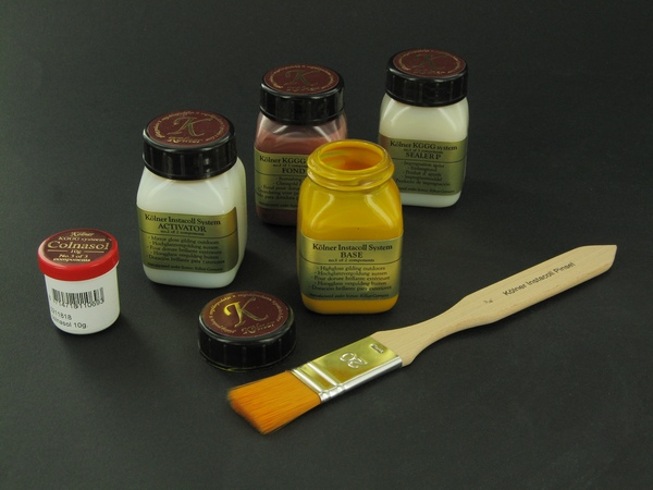 Koelner Products for gilding - Instacoll System