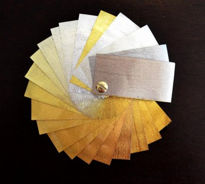 types de feuilles d'or